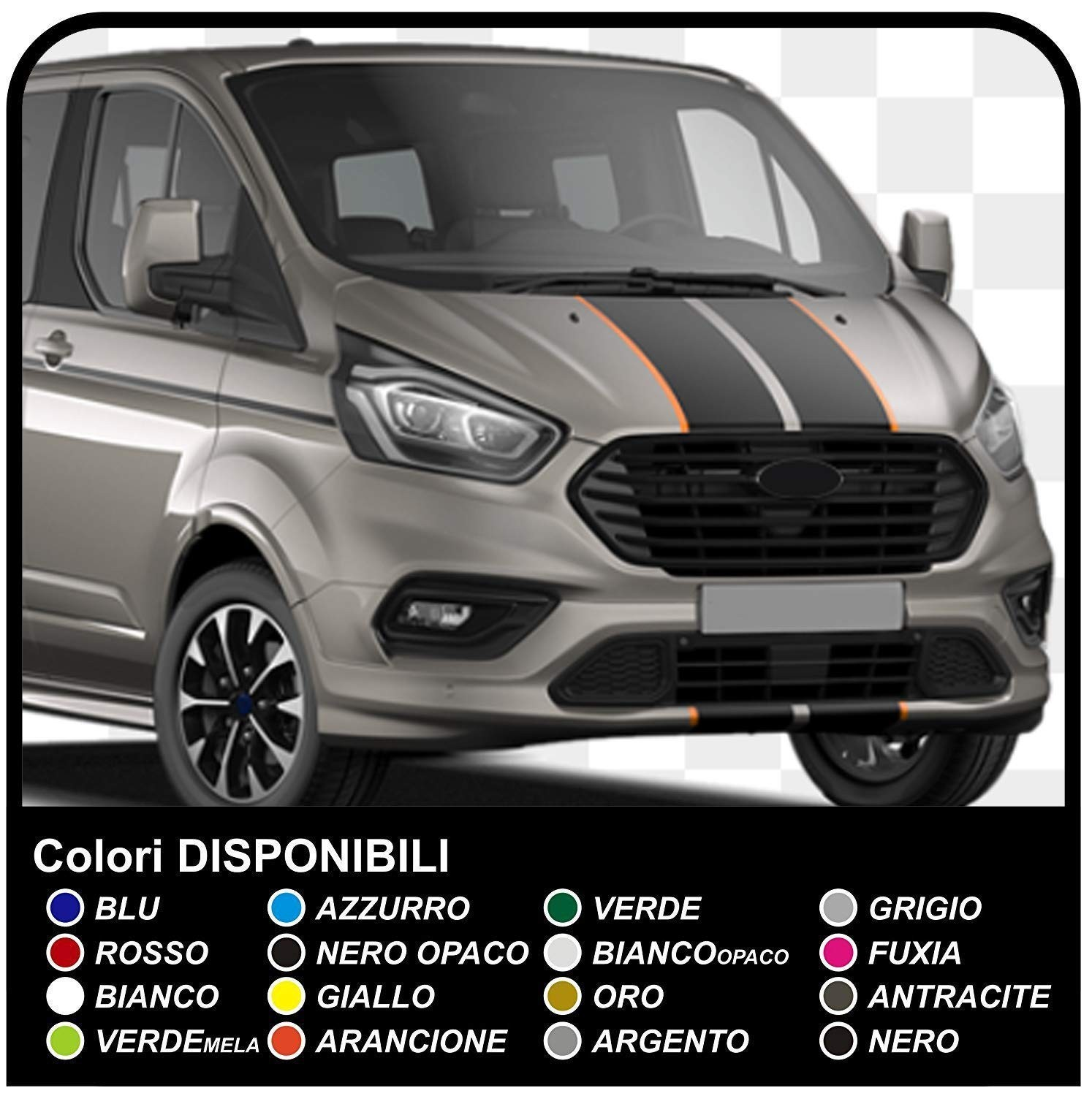 Adhesives transit van graphics van ford transit custom turneo