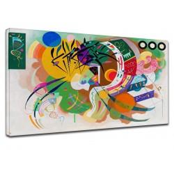 El marco de Kandinsky - Curva Dominante 1936 - WASSILY KANDINSKY Dominante de la Curva de Pintar imprimir en lienzo, con o sin