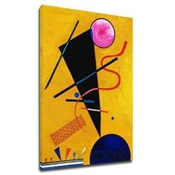 El marco de Kandinsky - Contacto - WASSILY KANDINSKY en Contacto con impresión de Fotografía en lienzo, con o sin marco