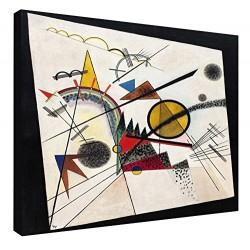 El marco de Kandinsky - En el Cuadrado Negro - WASSILY KANDINSKY En el Cuadrado Negro de la Pintura impresión en lienzo con o