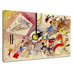 El marco de Kandinsky - Animales - WASSILY KANDINSKY Animales impresión de Fotografía en lienzo, con o sin marco