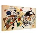 The framework Kandinsky - Unbroken Line - WASSILY KANDINSKY Unbroken Line Painting print on canvas with or without frame