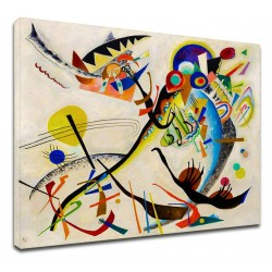 Le cadre Kandinsky - L'oiseau - WASSILY KANDINSKY à L'Oiseau de Peinture d'impression sur toile avec ou sans cadre