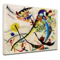 The framework Kandinsky - The bird - WASSILY KANDINSKY The Bird Painting print on canvas with or without frame