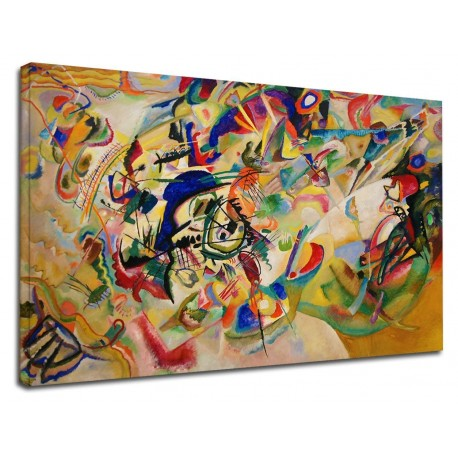 The framework Kandinsky - Composition VII - WASSILY KANDINSKY Composition VII Painting print on canvas with or without frame