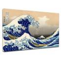 Pintura - La gran Ola de Kanagawa - HOKUSAI, La Gran Ola de Kanagawa Pintar imprimir en lienzo, con o sin marco