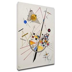 El marco de Kandinsky - Tensión Delicado - WASSILY KANDINSKY Delicada Tensión - Marco impresión en lienzo con o sin marco