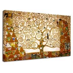 El marco de Klimt - El árbol de la Vida de KLIMT, Pintar imprimir en lienzo, con o sin marco