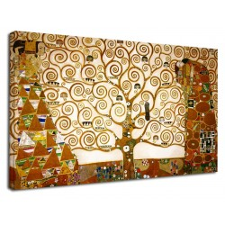 The framework Klimt - The tree of Life - KLIMT Painting print on canvas with or without frame