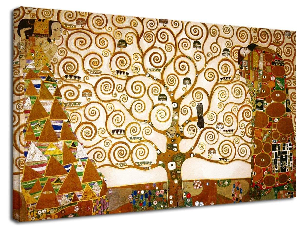 Klimt L Arbre De Vie Tableau le cadre klimt - l'arbre de vie de klimt peinture d