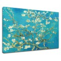 Painting Van Gogh - Almond Branch Flower - Picture print on canvas with or without frame