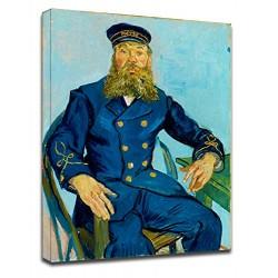La peinture de Van Gogh - Le Facteur Joseph Roulin - Photo impression sur toile avec ou sans cadre