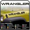 pegatinas para la campana de wrangler del jeep del ejército de ee.uu. de la estrella con el cráneo jeep renegade estrella