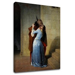 Painting Francesco Hayez - The Kiss - Picture print on canvas with or without frame