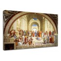 Framework Raphael - School of Athens - School of Athens - Painting print on canvas with or without frame