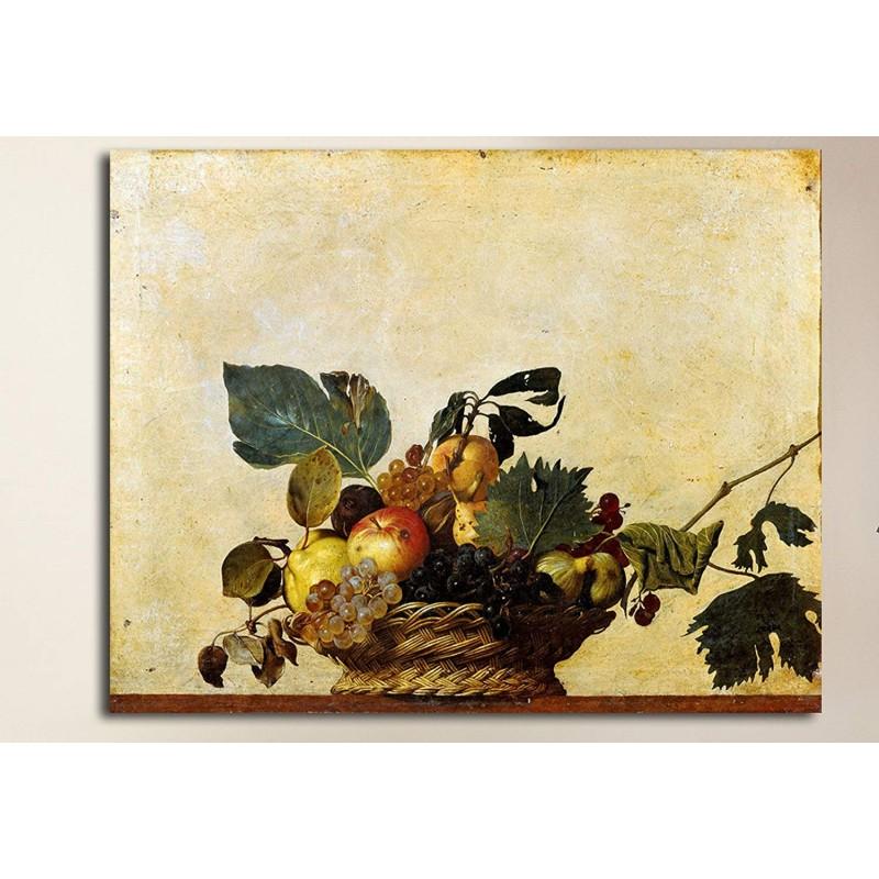 Picture Caravaggio Basket Of Fruit Still Life