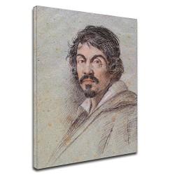 Image Caravage - Portrait - Michelangelo Merisi - Photo impression sur toile avec ou sans cadre