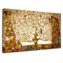 The framework Klimt - The tree of Life - The Tree of Life - Picture print on canvas with or without frame
