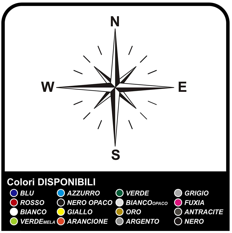 Aufkleber Windrose Kompass Klebeplatte Für Suv 4x4 Wohnmobil Wohnwagen Und Geländewagen Kotflügel Motorhaube Türen Stickers