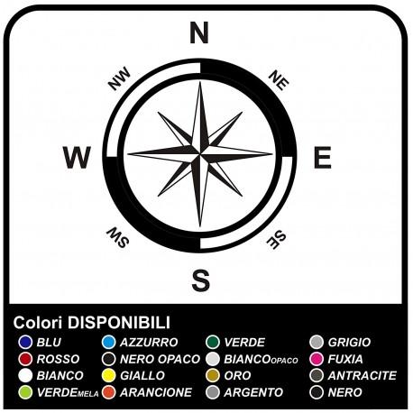 Aufkleber Windrose Kompass Klebeplatte Für Suvs Wohnmobile Und Wohnwagen Sticker Decals