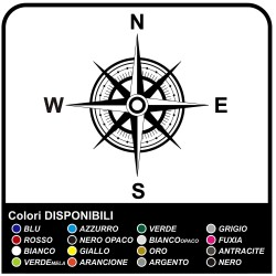 Adhesives-wind Rose Compass Sticker for 4X4 vehicle, Sides, the Hood Goalkeeper Offroad Decals Stickers Sides