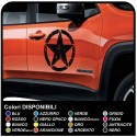 Adhesives for door jeep renegade star military effect consumed for Jeep renegade