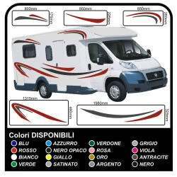 Stickers CAMPER complete kit graphics vinyl stickers decals stripes Set CAMPER VAN CARAVAN - graphics 04