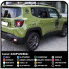 COMPLETE KIT with decals star military renegade written US ARMY for Jeep Wrangler JK 3 decals renegade decals wrangler US ARMY