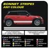 lado adhesivo MINI cooper gráficos, mini rayas MINI COOPER S UN JCW 1.4 1.6 COMPATRIOTA UNO y OTRO MINI