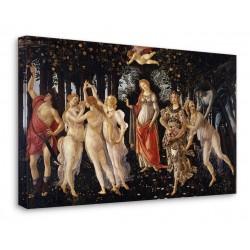 Quadro Sandro Botticelli - Primavera - La Primavera di Botticelli - Stampa su Tela Canvas con o Senza Telaio
