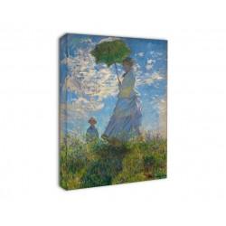 Quadro Monet - Donna con Ombrello - Donna con Ombrello Passeggiata di Claude Monet - Stampa su Tela Canvas con o Senza Telaio
