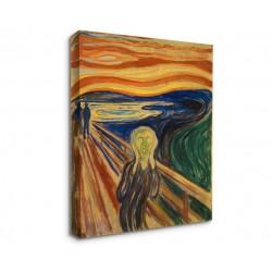 Quadro Edvard Munch - L'Urlo, 1910 - Quadro Urlo di Munch Stampa su Tela Canvas con o Senza Telaio