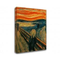 Quadro Edvard Munch - L'Urlo, 1893 - Quadro Urlo di Munch Stampa su Tela Canvas con o Senza Telaio