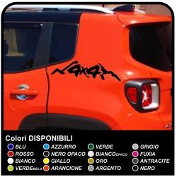 Adhesive side mountain 4x4 top Quality Renegade jeep suzuki