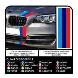 stickers band bumper for bmw - all models