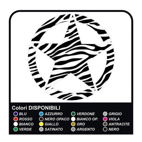 stickers STAR GREAT for the rear jeep renegade stickers Jeep new Renegade ZEBRA