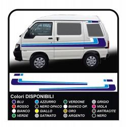 stickers for Piaggio Porter van graphics vinyl stickers decals stripes Set VAN CARAVAN Motorhome and small vans