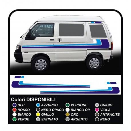 stickers for Piaggio Porter graphics vinyl stickers decals stripes Set VAN CARAVAN Motorhome