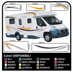 Stickers CAMPER complete kit graphics vinyl stickers decals stripes Set CAMPER VAN CARAVAN - graphics 04 (var)