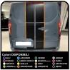 Adesivi TRANSIT M-SPORT bicolore solo posteriore Van grafiche furgone adesivi decalcomanie strisce ford transit custom turneo