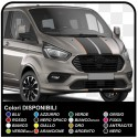 Adhesives TRANSIT M-SPORT two-tone only for front Van graphics van stickers decals stripes ford transit custom turneo