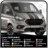 Adesivi TRANSIT M-SPORT bicolore solo per anteriore Van grafiche furgone adesivi decalcomanie strisce ford transit custom turneo