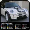 Stickers HOOD MINI COOPER S bands HOOD UNIVERSAL FOR ALL MODELS adhesive strips mini cooper