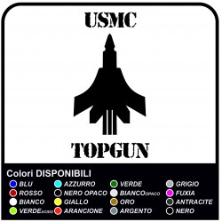 2 Decals renegade decals MILITARY TOP GUN US ARMY for jeep renegade-worn effect to the rear