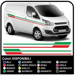 Aufkleber TRANSIT M-SPORT-Seitliche Van grafiken, van aufkleber decals streifen ford transit custom turneo