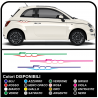 2 ADHESIVE STRIPS-TUNING FOR SIDE 500 STICKERS DECAL AUFLKEBER AUTOCOLLANT