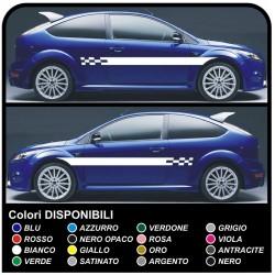 FORD FOCUS ST 5DR komplettes kit aufkleber seitlichen Aufkleber focus-Streifen-FOCUS abziehbilder auto seitlichen bändern für