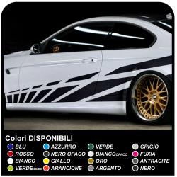 Aufkleber-satz für Auto klebestreifen Racing Sticker Tuning Seitlichen Bändern-Rennen: 270 cm