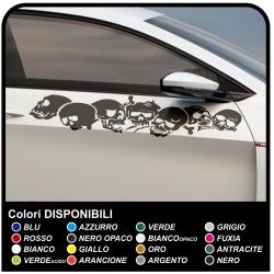 Schädel auto-aufkleber 100 cm aufkleber seitenteile seitenteile auto Tuning tribal