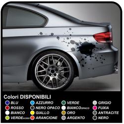 Aufkleber-satz für autos fleck Splash flecken klebstoffe für auto tuning tribal